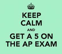 Pre-Administration for AP Exams April 23-26 in the Library!