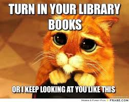 Underclassmen:  Return Your Library Books and Textbooks by May 13!