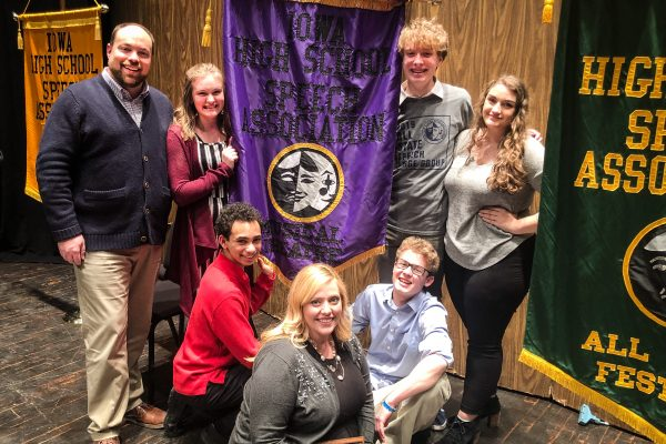 Roosevelt Troupe Earns Top Honors at All-State Speech