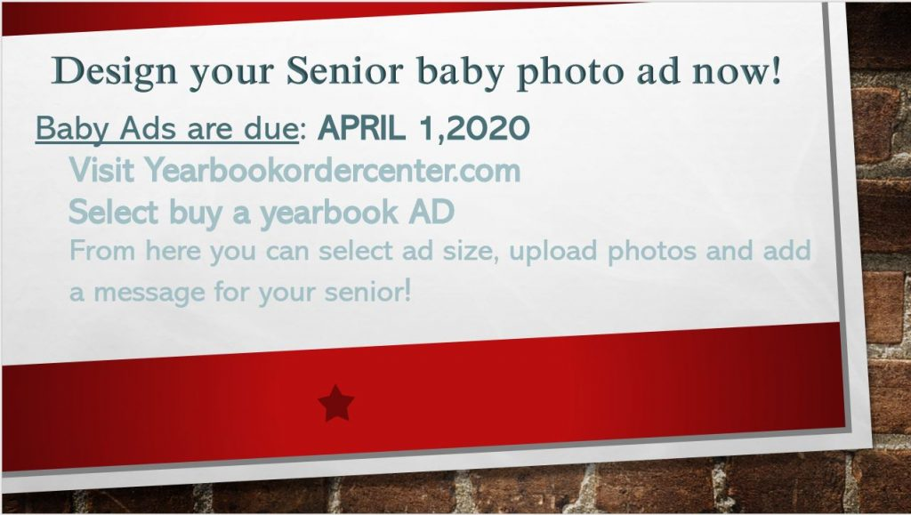 Baby Ad order info 10 09 19