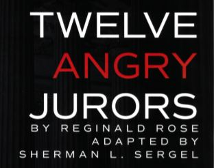 Roosevelt Theatre Presents Twelve Angry Jurors – November 15, 16, and 17!