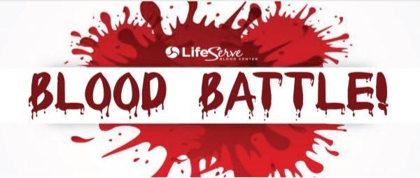 NHS Blood Drive – Blood Battle November 13!