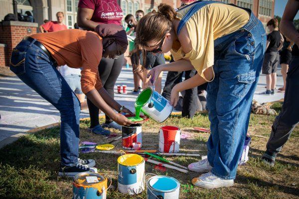 Roosevelt Street Painting Celebrates Homecoming 2021