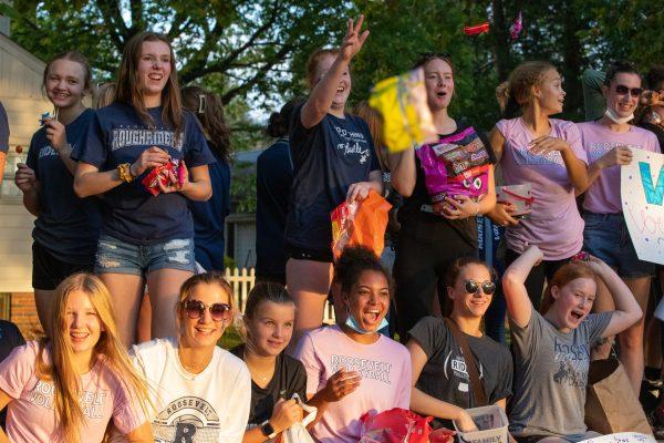 Roosevelt Homecoming Parade, Bonfire Ignite Enthusiasm